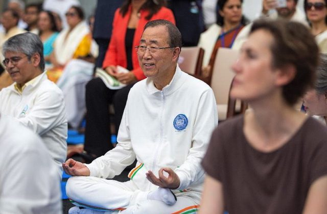 Climate negotiators need to perform Yoga