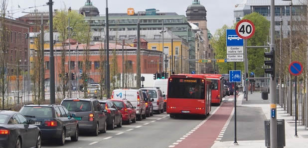 Banning cars in city centre after exporting 85% of its oil for 45 years and getting rich.Norway's way.