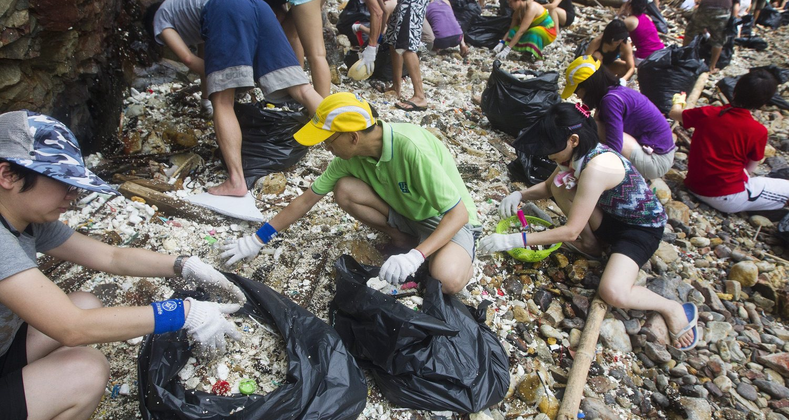 Beat Plastic Pollution- Futile Exercise ? Feel Good Factor?  What next ?